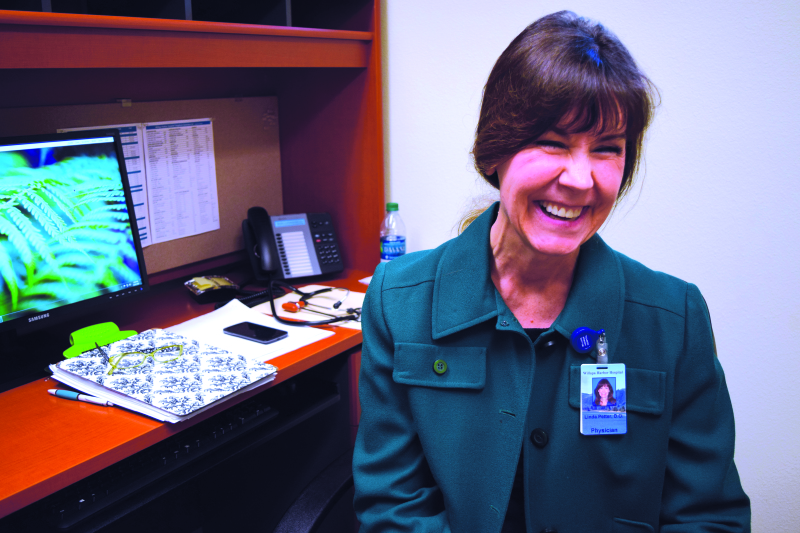 Veteran family practice physician Dr. Linda Petter emphasizes prevention and says she endeavors to provide patients with the best possible care.