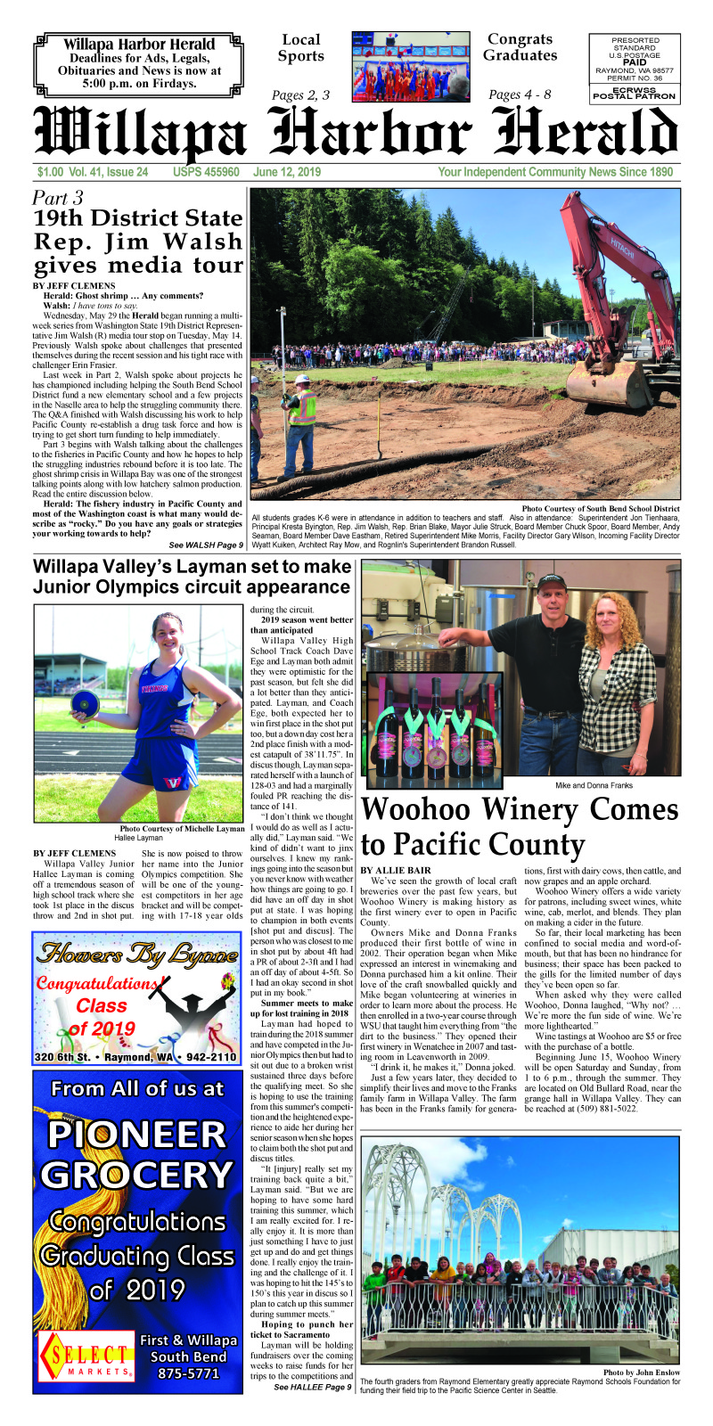 June 12, 2019 Willapa Harbor Herald