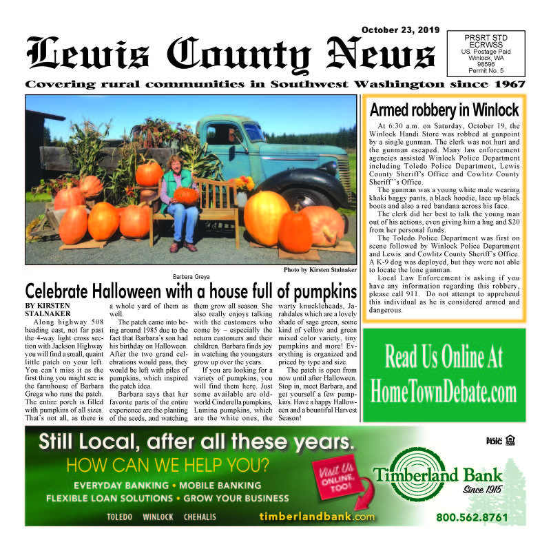 October 23, 2019 Lewis County News