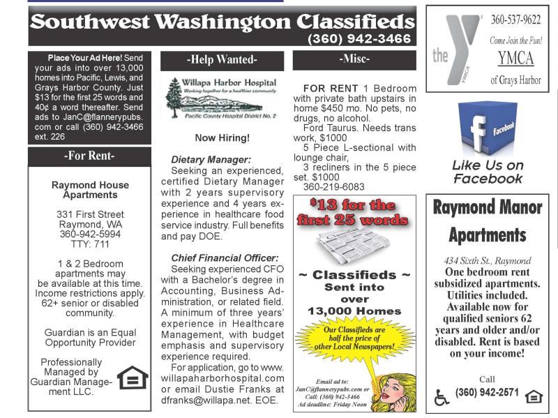 Classifieds 11.27.19