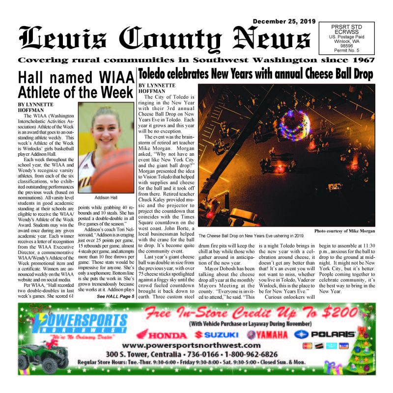 December 25, 2019 Lewis County News