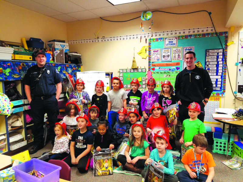 Winlock first graders learn  importance of attendance