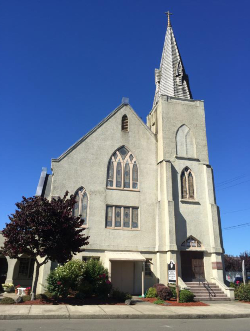 The Saron Lutheran Church in Hoquiam was burglarized on Sept. 12. Law enforcement is working to establish whether the incident is related to a similar recent burglary at a church in Aberdeen.