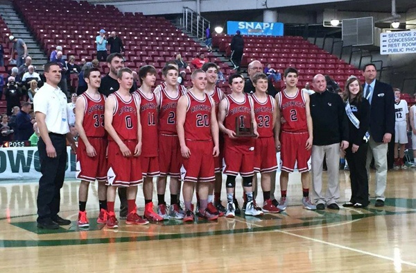 Castle Rock basketball earns first state trophy in 20 years