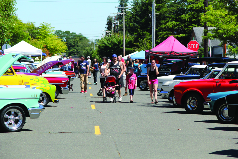 Historic Montesano Car Show