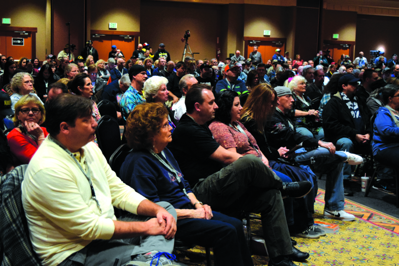 Bigfoot hunters and enthusiasts attend the 4th annual Sasquatch Summit at the Quinault Beach Resort and Casino in Ocean Shores.
