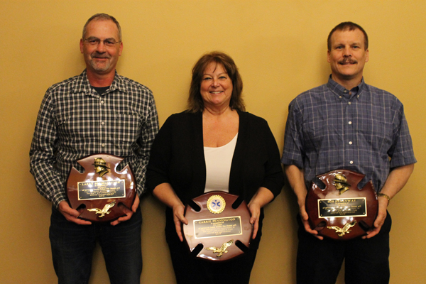 District 15 recognizes top responders and retirees at awards dinner