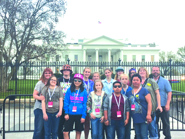 Winlock students make D.C. trip