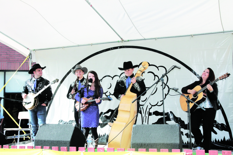 Great entertainment was in abundance this past weekend at the Mt. St. Helens Bluegrass Fest.