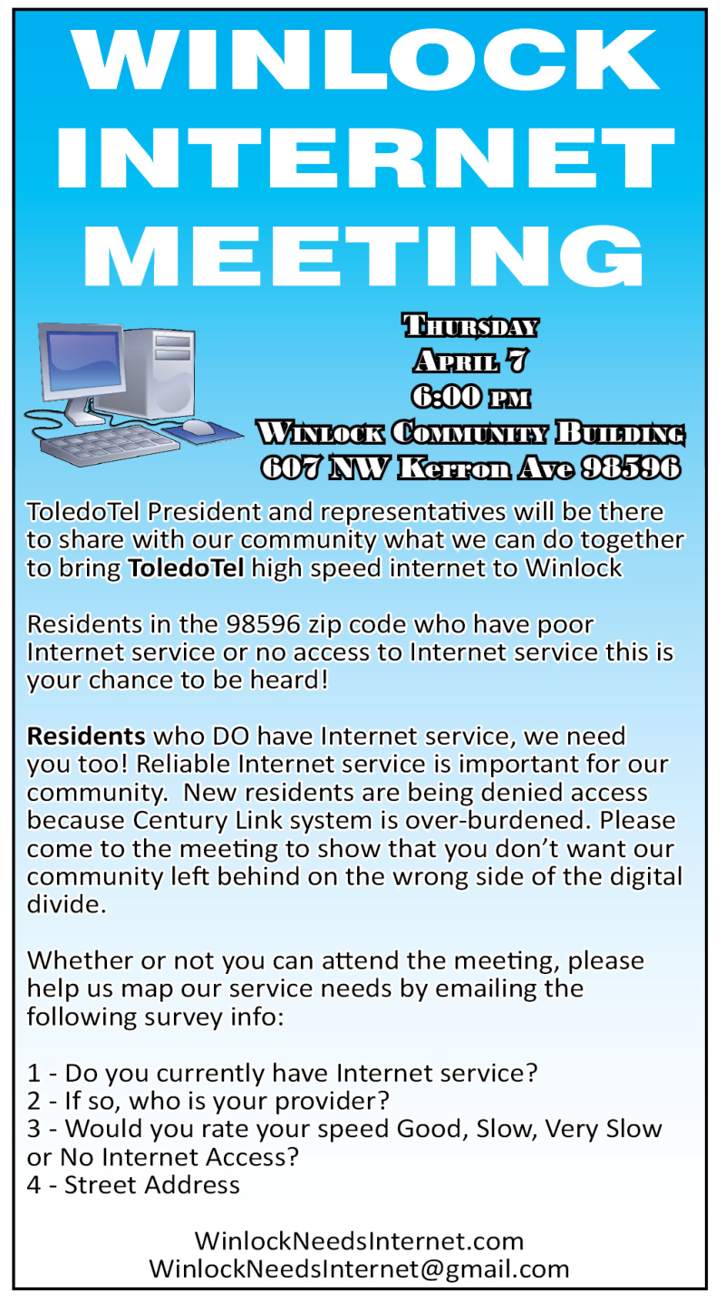 Winlock Internet Meeting