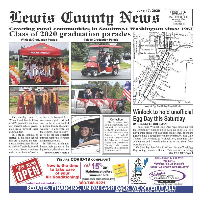 June 17, 2020 Lewis County News