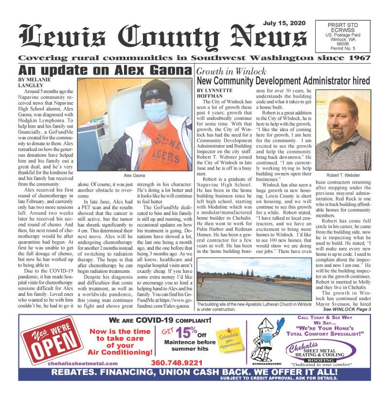 July 15, 2020 Lewis County News