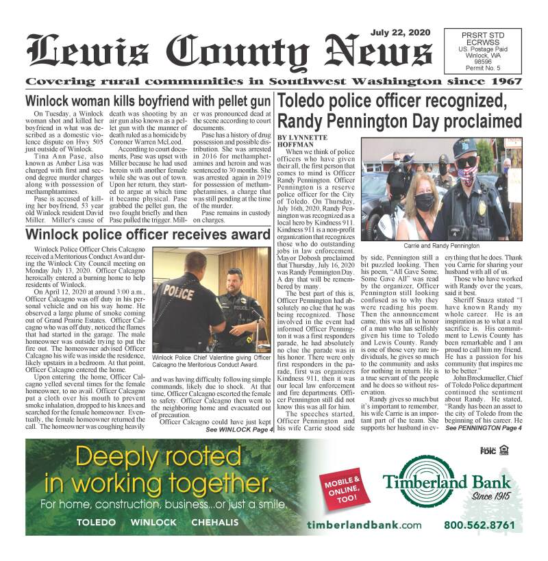 July 22, 2020 Lewis County News