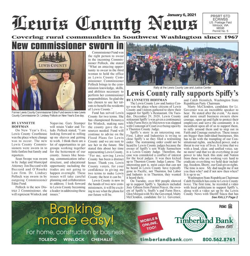 January 6, 2021 Lewis County News