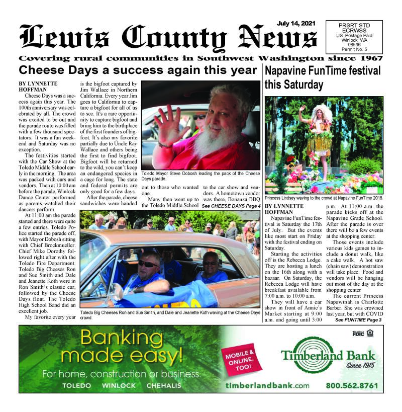 July 14, 2021 Lewis County News