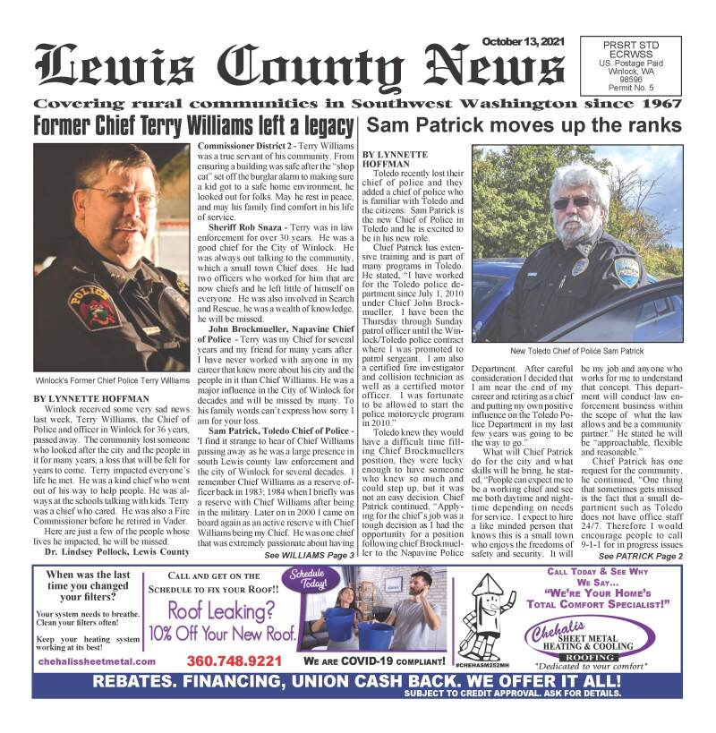 October 13, 2021 Lewis County News