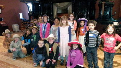 Second graders visit NW Carriage Museum