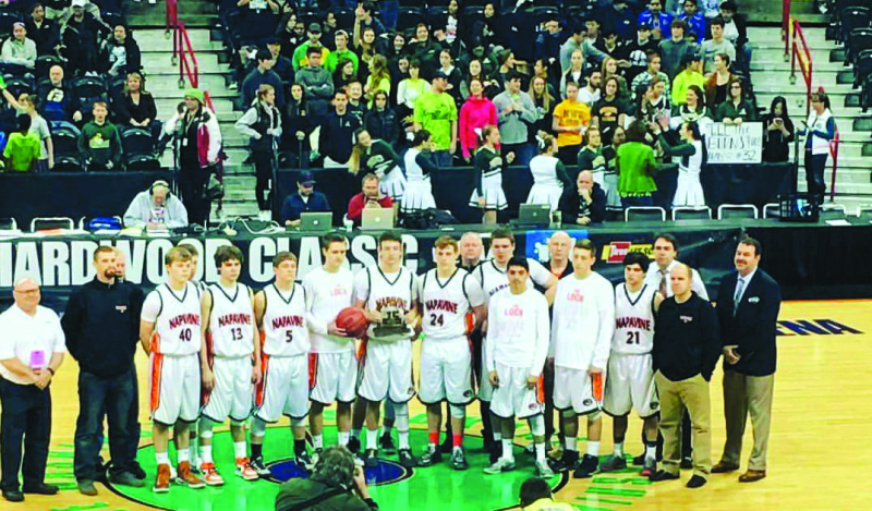 Way To Go Napavine Boys Basketball: 6th in State
