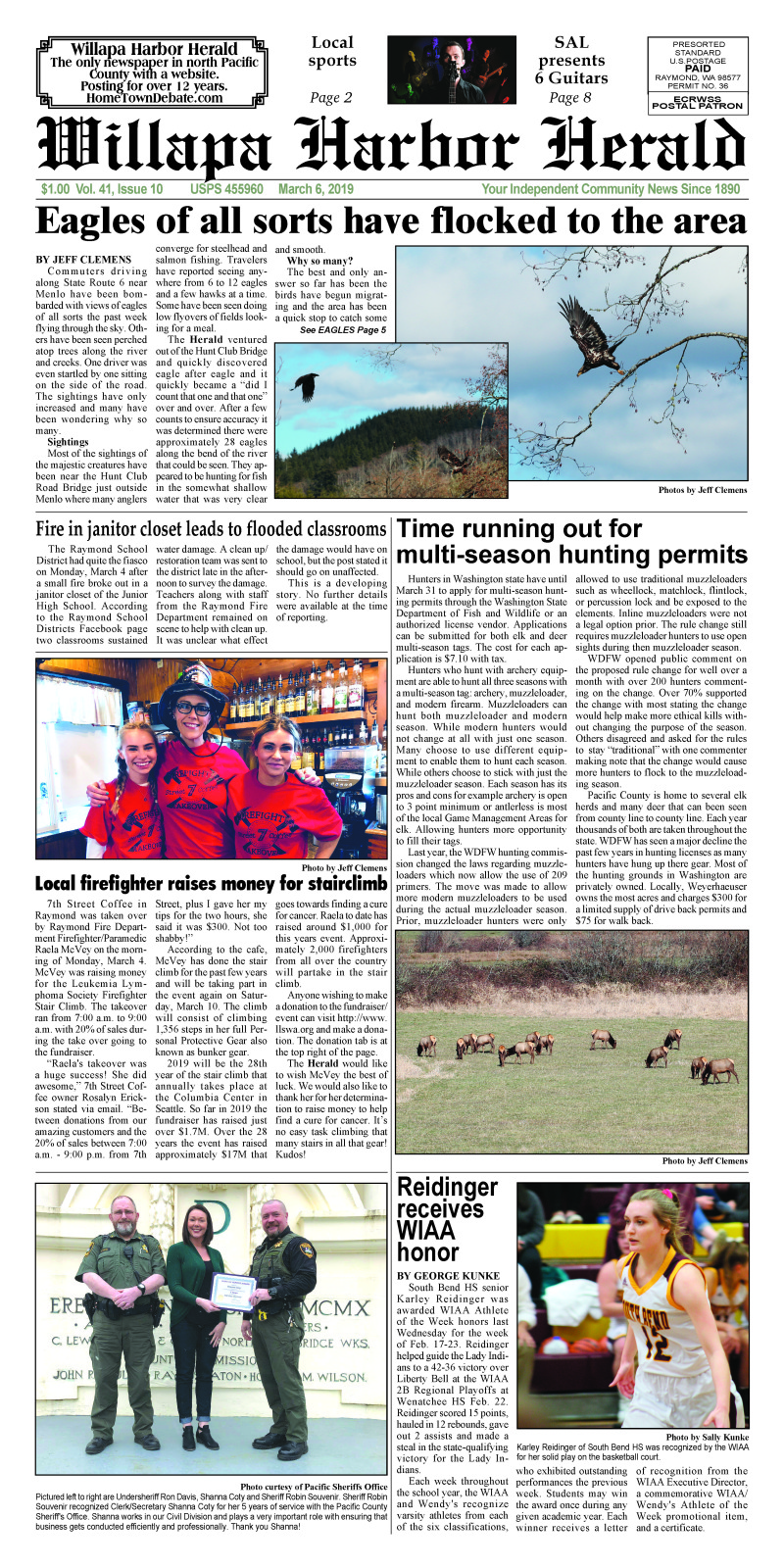 March 6, 2019 Willapa Harbor Herald