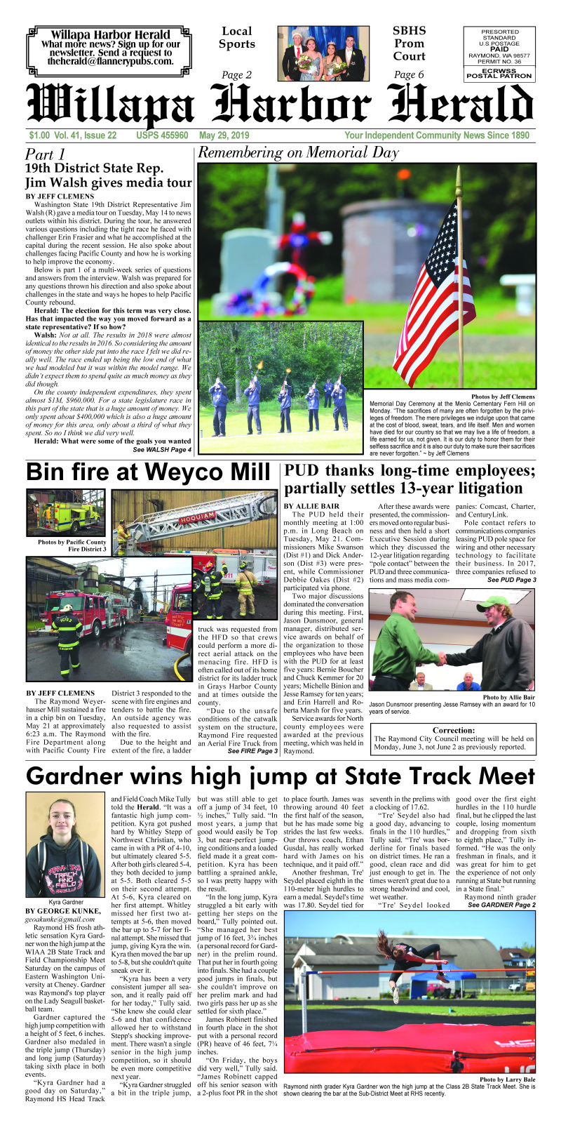 May 29, 2019 Willapa Harbor Herald