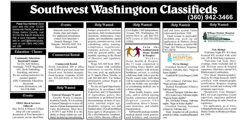 5.15.19 Classifieds