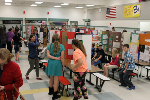 Toledo students rock science fair