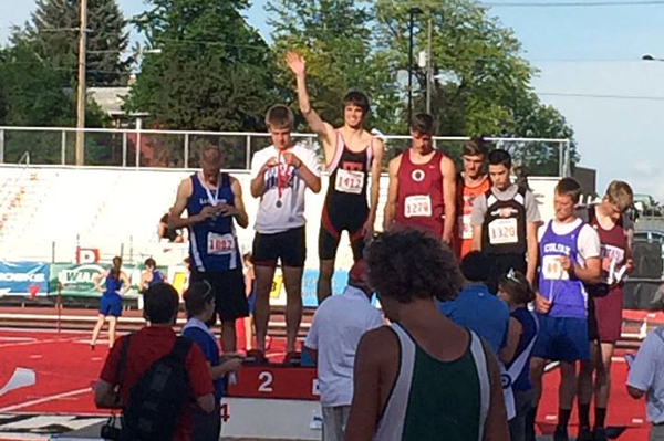 Local athletes place at state