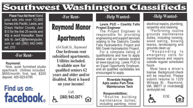 Classifieds 4.14.21
