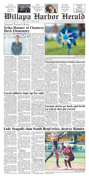 Willapa Harbor Herald May 9, 2018