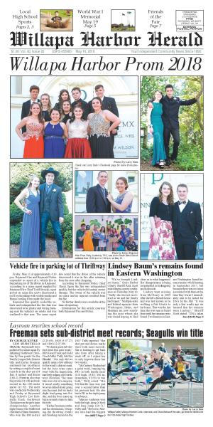 Willapa Harbor Herald May 16, 2018
