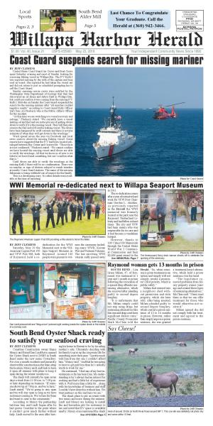 Willapa Harbor Herald May 23, 2018