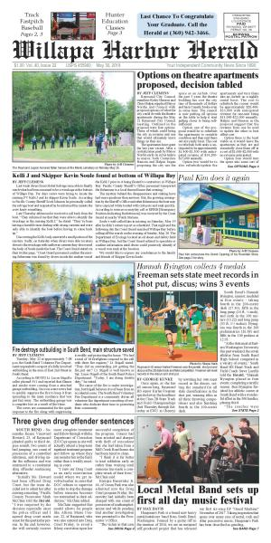 Willapa Harbor Herald May 30, 2018