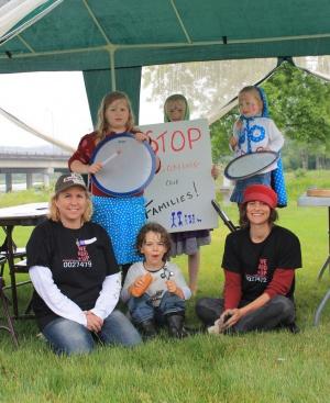 Marchers: GMOs Have Got To Go!