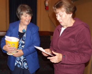 Theatre, studio congratulate community for support toward digital projector
