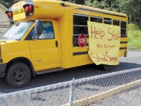 Winlock School District stuffing the bus for students
