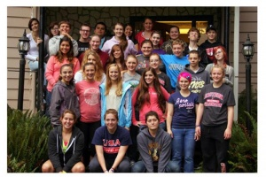 Volunteers, schools helped make Peers Helpers retreat successful