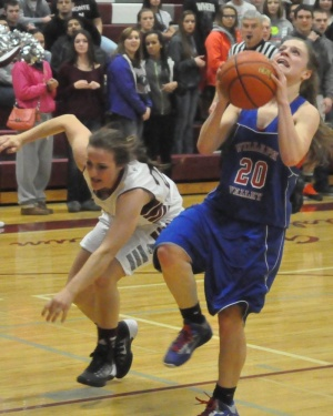 Karli Friese scores 27; then sinks buzzer-beater