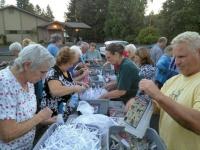 Residents learn composting at Senior Center