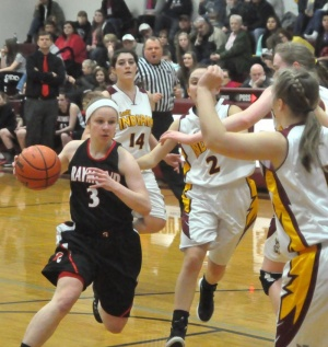 Lady Gulls tame Tribe