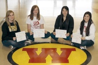 Winlock Cheer Earns Scholastic Award