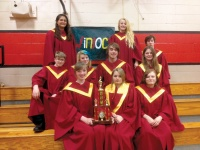 Winlock takes first at choir festival in Tenino