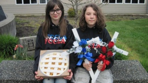 Buy a pie,or cross for student's fundraiser