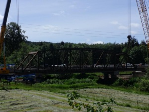 Historic Willapa Bridge says its goodbyes