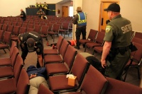 Responders mitigate mock tragedy during active shooter drill