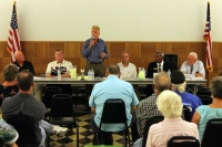 Candidates talk law enforcement, growth management during forum in Morton