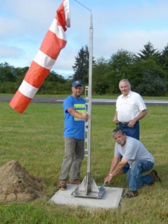 New windsocks for pilots