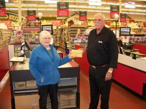 Everybody's Market Place receives Donor of the Year Award