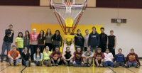 Donors purchase Shoot-A-Way for Winlock Basketball