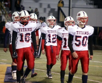 Titans' season ends at hands of Hyaks 27-12