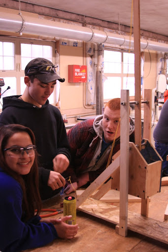 South Bend physics students experience fun with Middle Ages learning